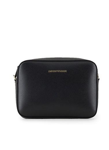 Emporio Armani  Ayarlanabilir Askılı Çanta Kadın Çanta Y3B092 Yh15A 85184 Siyah